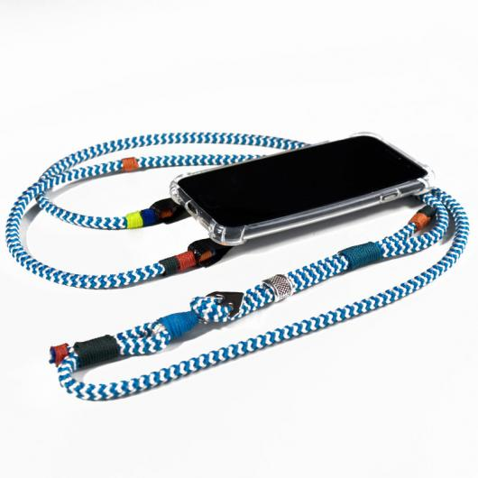 Handy-Necklace `Orkan de Luxe`  - PhoneCord  - Smartphone Lenyard / Smartphone Necklace