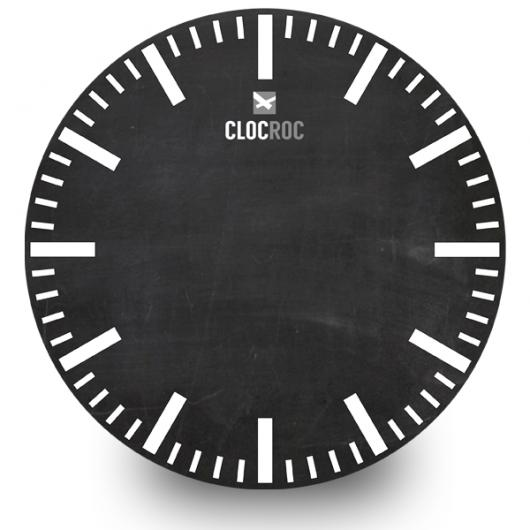 Clock Face Big `Blackboard 2`