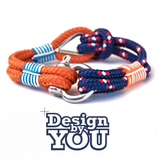 27 Ampuria - Hand rigged Bracelet, 6 mm - customizable