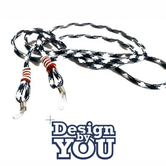 1 Hermosa - Sunglass Line hand made - customizable - Design by You - Sailing Rope 4 mm