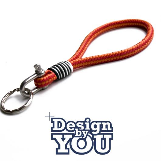 2 Mazunte - Hand-rigged Key Chain, Sailing Rope 6 mm - customizable