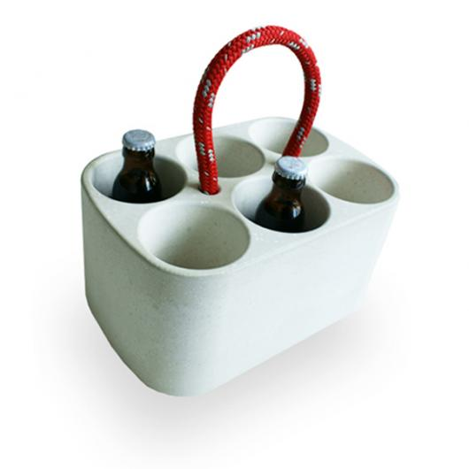 Handge-Pack (Bottle Cooler made of Concrete)