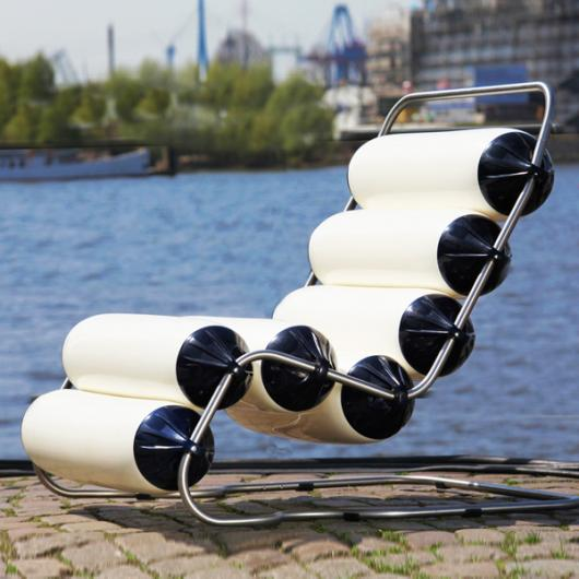 Swing-Air (Lounge-Chait / In & Outdoor Cantilever Chair)