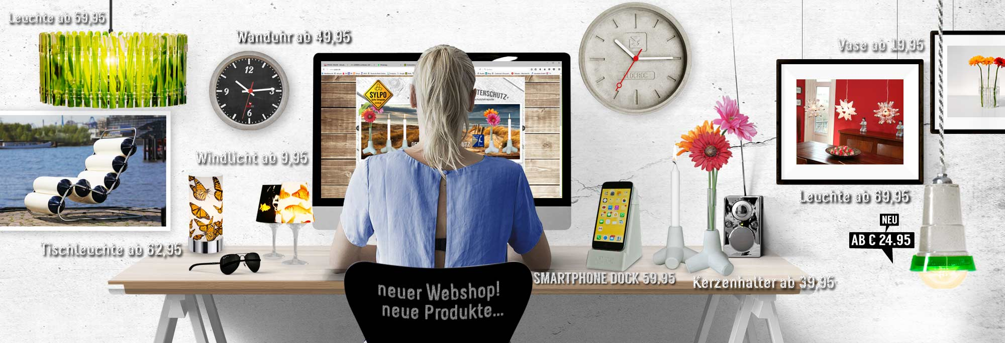 Ambientshop Home and Office Design-Accessoires, individualisierbares ...
